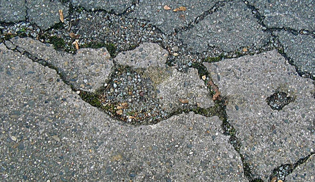 Cuts Down on Erosion of Your Driveway